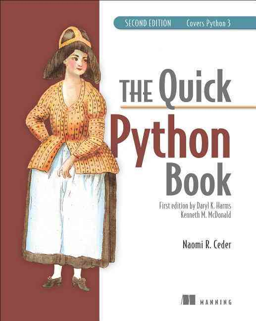 The Quick Python Book By Ceder, Vernon L.
